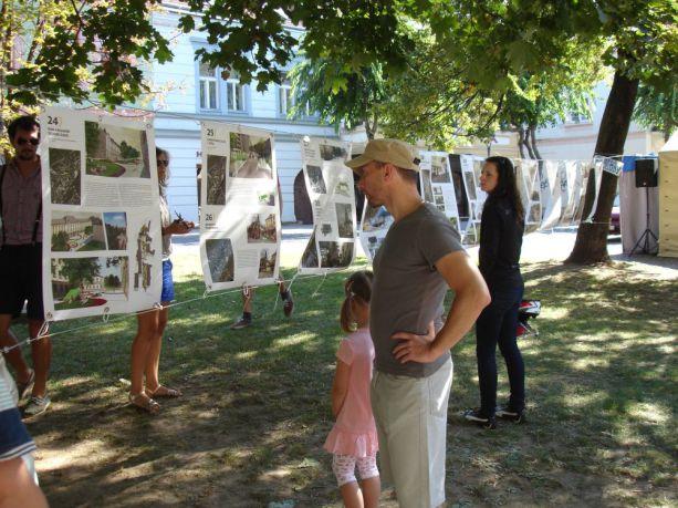 Mestské zásahy - výstava na MIerovom námestí, september 2013