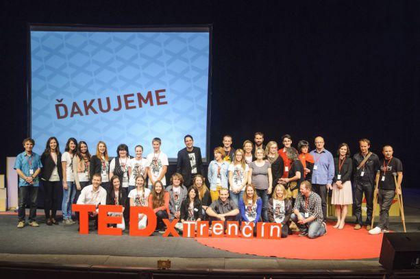 TEDx Trenčín 2014 - organizátori a hostia